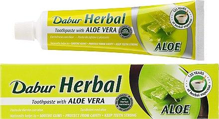 Zahnpasta mit Aloe Vera - Dabur Herbal Aloe Vera Toothpaste