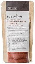 Düfte, Parfümerie und Kosmetik Natürliches Peeling mit Puder aus Aprikosenkernen für Gesicht und Körper - Botavikos Scrub