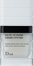 Düfte, Parfümerie und Kosmetik Porenverfeinernde und mattierende Gesichtsessenz - Dior Homme Dermo System Essence Perfectrice Pore Control