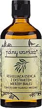 Düfte, Parfümerie und Kosmetik Regulierende Gesichtsessenz mit weißem Weidenextrakt - Polny Warkocz