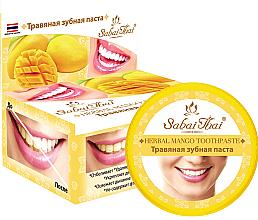 Düfte, Parfümerie und Kosmetik Kräuter-Zahnpasta mit Mango - Sabai Thai Herbal Mango Toothpaste
