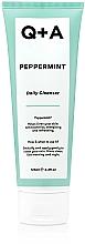 Düfte, Parfümerie und Kosmetik Gesichtsreiniger mit Pfefferminze - Q+A Peppermint Daily Cleanser