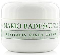 Düfte, Parfümerie und Kosmetik Reichhaltige Nachtcreme mit Kollagen und Vitamin A - Mario Badescu Revitalin Night Cream