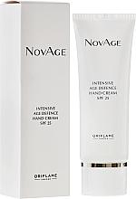 Düfte, Parfümerie und Kosmetik Intensiv regenerierende Handcreme SPF25 - Oriflame NovAge Intensive Age Defence Hand Cream SPF25