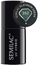 Düfte, Parfümerie und Kosmetik Hybrid-Nagellack - Semilac Platinum UV Hybrid
