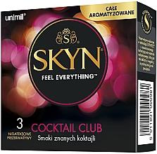 Düfte, Parfümerie und Kosmetik Kondome Skyn Feel Everything Cocktail Club 3 St. - Unimil Skyn Cocktail Club