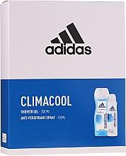Düfte, Parfümerie und Kosmetik Körperpflegeset - Adidas Climacool Women (Duschgel 250ml + Deospray Antitranspirant 150ml)