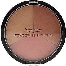 Düfte, Parfümerie und Kosmetik Highlighter-Palette - Pierre Rene Highlighting Powder Palette