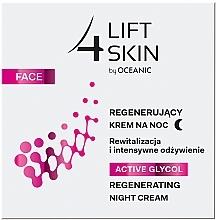 Düfte, Parfümerie und Kosmetik Regenerierende Nachtcreme mit Glykolsäure - Lift4Skin Active Glycol Regenerating Night Cream