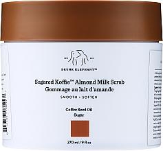 Düfte, Parfümerie und Kosmetik Feuchtigkeitsspendendes und nährendes Körperpeeling mit Mandelmilch - Drunk Elephant Sugared Koffie Almond Milk Body Scrub