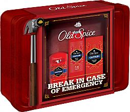 Düfte, Parfümerie und Kosmetik Körperpflegeset - Old Spice Captain Grooming Tin (Deostick 50g + Duschgel 250ml + After Shave Lotion 100ml)