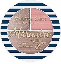 Düfte, Parfümerie und Kosmetik Konturpalette für das Gesicht - Vivienne Sabo Mariniere Palette Contouring