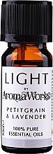 Düfte, Parfümerie und Kosmetik Ätherisches Öl Petitgrain und Lavendel - AromaWorks Light Range Petitgrain and Lavender Essential Oil
