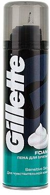 Rasierschaum für empfindliche Haut - Gillette Classic Sensitive Skin Shave Foam for Men
