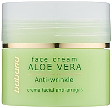Düfte, Parfümerie und Kosmetik Anti-Falten Gesichtscreme mit Aloe Vera - Babaria Aloe Facial Wrinkle Cream