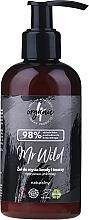 Düfte, Parfümerie und Kosmetik Haar- und Bartwaschgel Zypresse und Ingwer - 4Organic Mr Wild Face and Beard Washing Gel