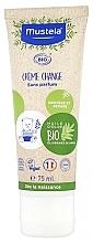 Düfte, Parfümerie und Kosmetik Reparierende und beruhigende Windelcreme mit Olivenöl, Sonnenblume und Aloe Vera - Mustela Organic Change Cream