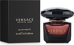 Düfte, Parfümerie und Kosmetik Versace Crystal Noir - Eau de Toilette (Mini)