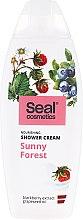 Düfte, Parfümerie und Kosmetik Pflegende Duschcreme mit Brombeer-Extrakt und Traubenkernöl - Seal Cosmetics Sunny Forest Shower Cream