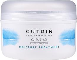 Düfte, Parfümerie und Kosmetik Nährende und feuchtigkeitsspendende Haarmaske - Cutrin Ainoa Moisture Treatment