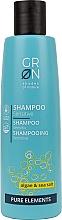Düfte, Parfümerie und Kosmetik Shampoo mit Algen und Meersalz für sensibles Haar - GRN Pure Elements Sensitive Algae & Sea Salt Shampoo