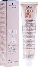 Düfte, Parfümerie und Kosmetik Blond Aufhellercreme - Schwarzkopf Professional BlondMe Blonde Lifting