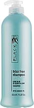 Düfte, Parfümerie und Kosmetik Anti-Frizz Shampoo mit Leinöl - Black Professional Line