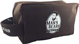 Düfte, Parfümerie und Kosmetik Kulturbeutel für Männer rechteckig - Man's Beard Men's Toiletry Bag