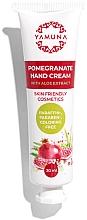 Düfte, Parfümerie und Kosmetik Krem do rąk Aloe Vera Granat - Yamuna Pomegranate Hand Cream With Aloe Vera