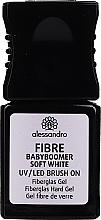 Düfte, Parfümerie und Kosmetik Fiberglas-Gel - Alessandro International Fiber UV/LED Brush On Fiberglass Hard Gel