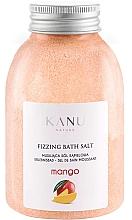 Düfte, Parfümerie und Kosmetik Entspannendes Badesalz mit Mango - Kanu Nature Mango Fizzing Bath Salt