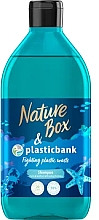 Düfte, Parfümerie und Kosmetik Feuchtigkeitsspendendes Shampoo - Nature Box Plastic Bank Shampoo