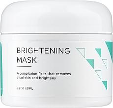 Düfte, Parfümerie und Kosmetik Aufhellende Gesichtsmaske mit Milchsäure und Kaolin - Ofra Brightening Face Mask