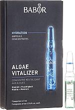 Düfte, Parfümerie und Kosmetik Vitalisierende und feuchtigkeitsspendende Gesichtsampullen mit Algen - Babor Ampoule Concentrates Algae Vitalizer