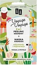 Düfte, Parfümerie und Kosmetik 2in1 Creme-Peeling und Creme-Maske mit Mandel und Pampelmuse - AA Voyage Voyage 2 In 1