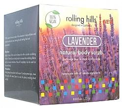Düfte, Parfümerie und Kosmetik 100% Natürliches Gesichts- und Körperpeeling mit Lavendelduft - Rolling Hills Gommage Corps Naturel