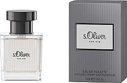 Düfte, Parfümerie und Kosmetik S.Oliver For Him - Eau de Toilette