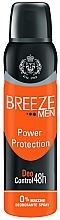 Düfte, Parfümerie und Kosmetik Deospray - Breeze Men Power Protection Deo Control 48H