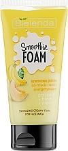 Düfte, Parfümerie und Kosmetik Energetisierender cremiger Gesichtsreinigungsschaum mit Melonen- und Bananenextrakt - Bielenda Smoothie Foam Banana And Melon