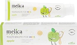 Düfte, Parfümerie und Kosmetik Kinder-Zahnpasta Apfel - Melica Organic Toothpaste For Kids Apple