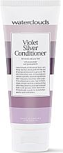 Düfte, Parfümerie und Kosmetik Haarspülung mit Provitamin B5 für weisse und graue Haare - Waterclouds Violet Silver Conditioner