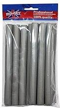 Düfte, Parfümerie und Kosmetik Schaumstoffwickler 18/210 mm grau 10 St. - Ronney Professional Flex Rollers