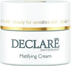 Düfte, Parfümerie und Kosmetik Mattierende und feuchtigkeitsspendende Gesichtscreme - Declare Matifying Hydro Cream
