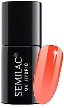 Düfte, Parfümerie und Kosmetik Nagellack - Semilac Thermal UV Hybryd Nail Polish