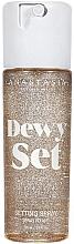Düfte, Parfümerie und Kosmetik Make-up Fixierspray - Anastasia Beverly Hills Dewy Set Setting Spray