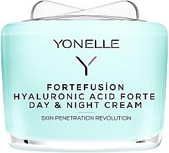 Düfte, Parfümerie und Kosmetik Tages- und Nachtcreme für das Gesicht mit Hyaluronsäure - Yonelle Fortefusion Hyaluronic Acid Forte Day & Night Cream