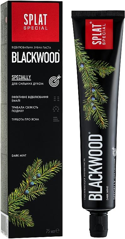 Aufhellende Zahnpasta Blackwood - SPLAT Special