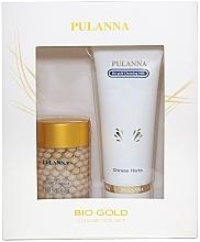 Düfte, Parfümerie und Kosmetik Gesichtspflegeset - Pulanna Bio-Gold (Gesichtsmilch 90g + Gesichtscreme 60g)