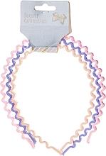 Düfte, Parfümerie und Kosmetik Haarreife Beauty Collection 27345 Verschiedene Farben 3 St. - Top Choice Hair Headbands