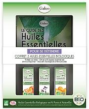 Düfte, Parfümerie und Kosmetik Set mit ätherischen Ölen zur Entspannung - Galeo To Help You Relax Gift Set (Ätherisches Öl 3x10ml)